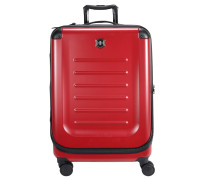 Spectra 2.0 Expandable 4-Rollen Trolley 82 cm rot