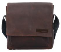 Goldhawk Umhängetasche Leder 25 cm brown