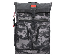 Alpha Bravo London Rucksack 48 cm Laptopfach charcoal restoration