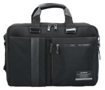 Openroad Aktentasche Business Rucksack 43 cm Laptopfach jet black