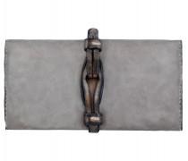 Geldbörse Leder 19 cm mauve