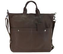 Brisbane Shopper Tasche Leder 36 cm braun