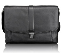 Beacon Hill Somerset Messenger Leder 39 cm Laptopfach black