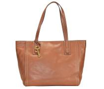 Emma Shopper Leder 32 cm brown