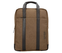 Punch 716 Business Rucksack 40 cm Laptopfach beige b co