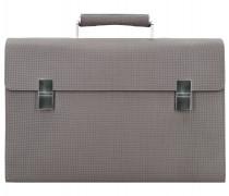 Cubic 1.1 Aktentasche Leder 33 cm grey
