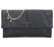 Mirror Leather Clutch Tasche Leder 28 cm