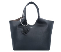 Flora Shopper Tasche 28 cm black