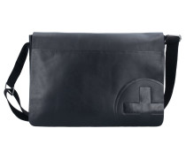Jones Messenger Leder 35 cm black