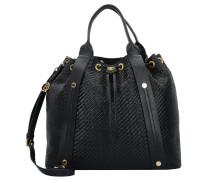 Capri Elea Shopper Tasche Leder 39 cm nero