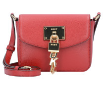 Elissa Mini Bag Umhängetasche Leder 17 cm bright red