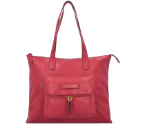 Plume Soft Schultertasche Leder 40 cm rosso ribes