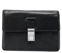 Modus Handgelenktasche Leder 26 cm black