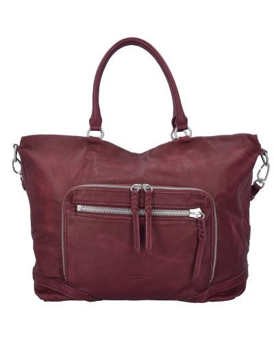 Zum Verkauf 2018 Spielraum-Shop Liebeskind Damen Kamakura Shopper Tasche Leder 42 cm ruby IcPsPko