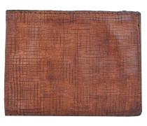 Assenzio Geldbörse Leder 12 cm cognac