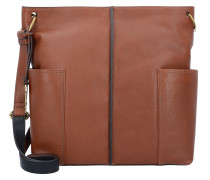 Lane Umhängetasche Leder 27 cm medium brown