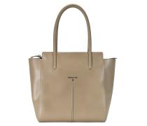 Shopper Tasche Leder 30 cm uniform grey