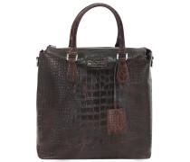 Perth Shopper Tasche Leder 32,5 cm braun
