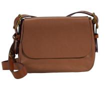 Harper Umhängetasche Leder 34 cm brown