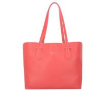 Borsa Shopper Tasche Leder 29 cm vividred\freshrose