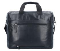 Connor Aktentasche Leder 39 cm Laptopfach black