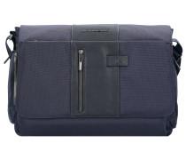 Brief Aktentasche 41 cm Laptopfach blue