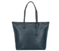 Clementine Soft Shopper Tasche Leder 32 cm bleu