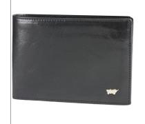 Basic Geldbörse V Leder 12,5 cm