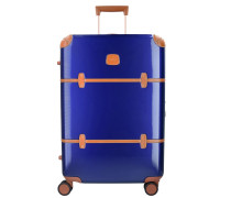 Bellagio 4-Rollen Trolley 70 cm blue/tobaco