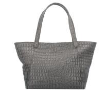 Soho Shopper Tasche Leder 38 cm rock grey