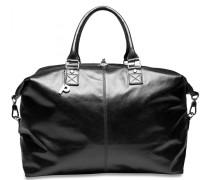 Weekend Weekender Reisetasche Leder 45 cm schwarz
