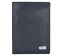 Origin 1 Geldbörse Leder 9,5 cm schwarz