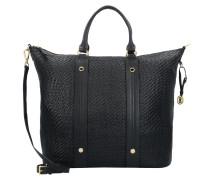 Capri Elka Shopper Tasche Leder 46 cm nero