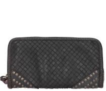 Bardana Geldbörse Leder 22 cm black
