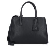 Adria Handtasche Leder 32 cm black nickel