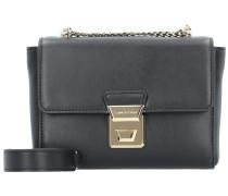 Gena Or Mini Bag Umhängetasche Leder 18 cm noir