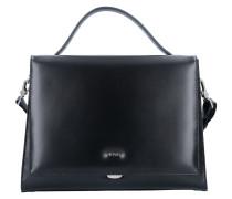 Berlin Handtasche Leder 36 cm schwarz
