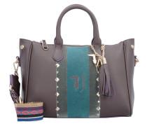 Blondie Ecoleather Stud Tote Medium Bag Handtasche 30 cm brown