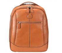 Life Pelle Rucksack Leder 38 cm Laptopfach leather