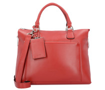 Maggie Handtasche Leder 36 cm rot