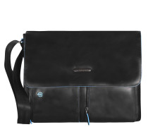 Blue Square Messenger Leder 37 cm Laptopfach