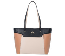 La Portena Shopping Bag black camrose sugarbrown