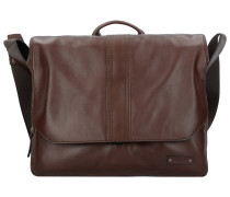 Gordon 1 Messenger Aktentasche Leder 37 cm Laptopfach