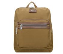 Elba Backpack 3 Rucksack 33 cm bronzo verde
