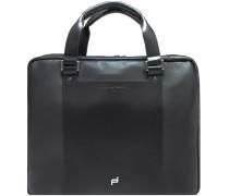 Shyrt-Leather Aktentasche Leder 40 cm Laptopfach black