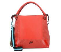 GSac Schultertasche Leder 35 cm rosso