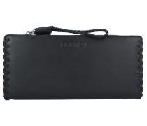 Tribal-Setha Geldbörse Leder 20 cm black