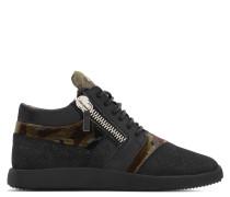 Fabric 'runner' low-top sneaker RUNNER
