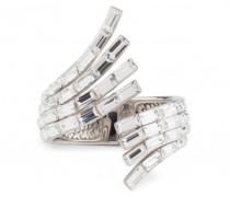 Baguette crystal brass bracelet VERA