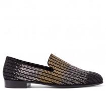 Gold dégradé glitter loafer NATE